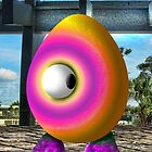 Saturated Egg Man Looking the other Way by GolemAura