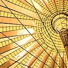 Berlin Sony Centre Glass Roof by Scott Chalmers