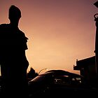 sunset and cars  by Andrew  Landau