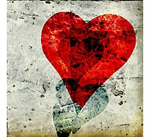 Abstract Heart 3 Photographic Print