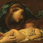 Madonna And Child by Bridgeman Art Library