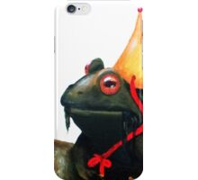 Frog Prince iPhone Case/Skin