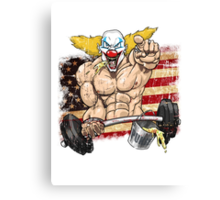 Cross fitness - Puker - USA Canvas Print