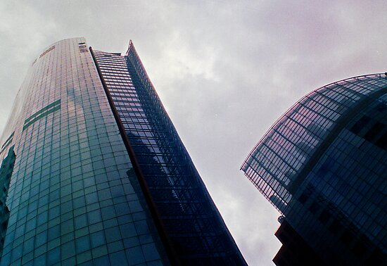 Big City Skyline........the pastel set  # five by Juilee  Pryor