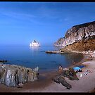 Sardinia - the hidden beach by JimFilmer
