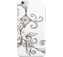 Abstract Floral Ornament 2 iPhone Case/Skin