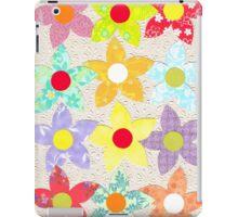 DECORATIVE FLOWERS iPad Case/Skin