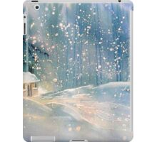 Cottage in the Snow iPad Case/Skin