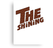 THE SHINING  Canvas Print