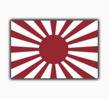 Imperial Japanese Army, War flag of Japan, WWII, Nippon, Kamikaze Kids Clothes