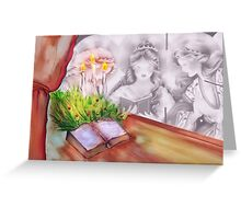 """Angels Singing """"Merry Christmas"""" Greeting Card"""