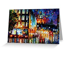 London's Lights — Buy Now Link - www.etsy.com/listing/224581910 Greeting Card