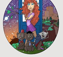 Dr. Who Disney Mashup - Merida by Todd  Benevides