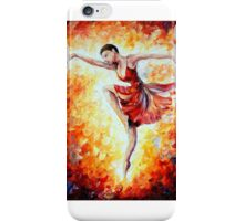 Flaming Dance — Buy Now Link - www.etsy.com/listing/224620941 iPhone Case/Skin