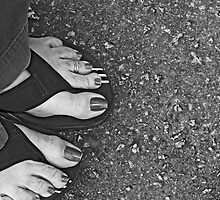 Feet and Flip Flops  by AngelPhotozzz