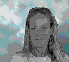 Self Portrait by Donna Adamski