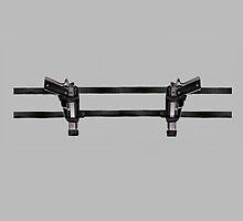 LARA CROFT GUN BELT by ALIANATOR