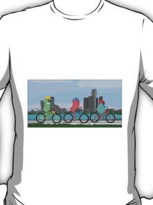 Friends Biking  T-Shirt