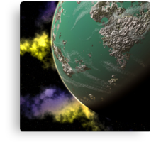 Green Planet Canvas Print