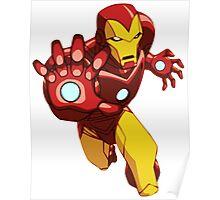 Iron Man Cartoon Poster