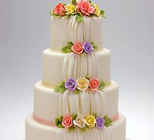 Rose, a cake designed by by Linda Bassett