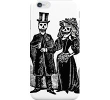 Skeleton Wedding iPhone Case/Skin