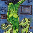 """Toilet Genie"" by Max  Marin"