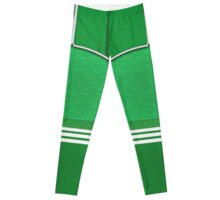 retro soccer g Leggings