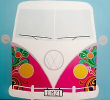 Funky VW Campervan by Emily Gore