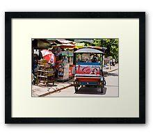 Hello Moto! (Siem Reap, Cambodia) Framed Print