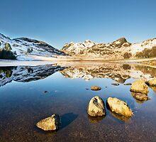 Blea Tarn - Lake District - Cumbria by eddiej