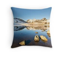 Blea Tarn - Lake District - Cumbria Throw Pillow