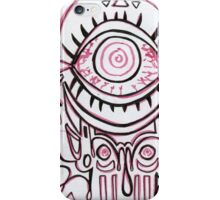 Red Eye graphic design iPhone Case/Skin