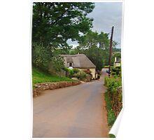Kingskerswell Old Village Poster