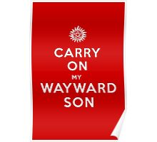 Carry on (My wayward son) Poster