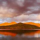 Lake Buffalo Sunset, Victoria, Australia by Michael Boniwell