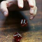 Rolling Dice by Mel Preston