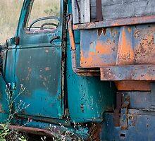 Blue Truck II by GesturesPhoto