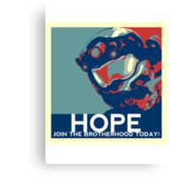 FC BLUE Hope Canvas Print