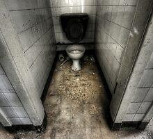 Tiled Toilet by Richard Shepherd