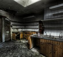 In The Kitchen by Richard Shepherd
