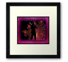 Zing Went the Strings Framed Print