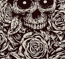 Skull & Roses Sticker