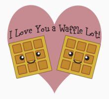 I Love You a Waffle Lot! Kids Clothes
