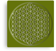 Flower of Life #1 Canvas Print