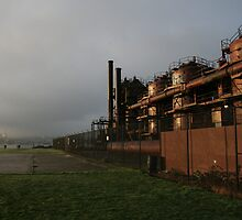 Gasworks Seattle by kerplunk
