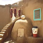 Pottery and the Kiva Oven by Mary Campbell