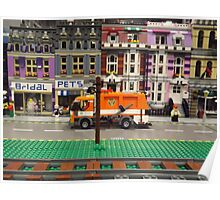 Lego Village, Greenberg's Train and Toy Show, Edison, New Jersey  Poster