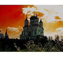 St Panteleimon Catedral Photographic Print
