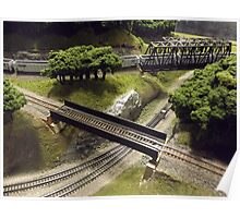 Scale Model Trains, Scale Model Buildings, Greenberg's Train and Toy Show, Edison, New Jersey  Poster